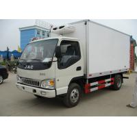 China 4x2 3 Tons Freezer Box Truck , Refrigerated Delivery Truck With Thermo King Unit on sale