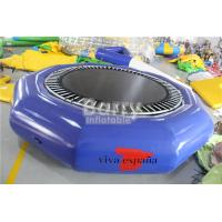 Wholesale Open Water Customized Size Durable Inflatable Floating Water Trampoline For Kids from china suppliers
