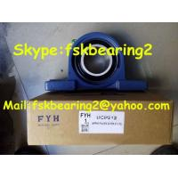 Wholesale Fyh Agricultural Machinery Insert Bearings Pillow Block Ball Bearing Ucp205 , Steel Cage from china suppliers