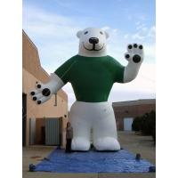 Wholesale Polar Bear Inflatable Advertising Products Inflatable Mascot Water Resistant from china suppliers