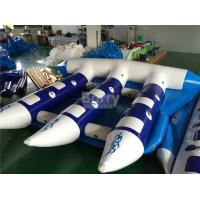 Wholesale Exciting Inflatable Water Toys , Towable Inflatable Flyfish Banana Boat For Sea from china suppliers