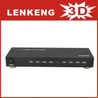 Wholesale LKV318 HDMI Splitter 1 input 8 output support 3D with remote control from china suppliers