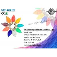 Buy cheap C9 Pine Cone LED X'mas Bulb Waterproof Fireproof CE / RoHS Certificate from Wholesalers
