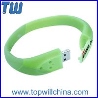 Buy cheap Hotsale Coloful Bracelet Cheap Usb Flash Drives with Buckle Delicate Design for Gifts from Wholesalers