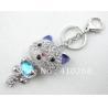 Buy cheap metal key ring, key chain, metal charm, custom key ring Language Option French from wholesalers