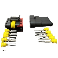Wholesale Automotive wiring harness plug waterproof connectorMale and female mating from china suppliers