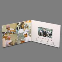 Wholesale OEM Thinnest LCD Video Brochure Card , Touch Screen Video Greeting Card from china suppliers