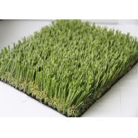High Elasticity Soccer Outdoor Fake Grass Carpet 20MM - 45MM Pile Height