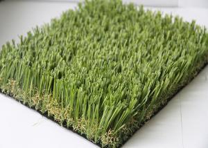 High Elasticity Soccer Outdoor Fake Grass Carpet 20MM - 45MM Pile Height