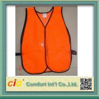 Wholesale High Visibility Reflective Protective Clothing Reflective Safety Jackets , Custom Safety Vests from china suppliers