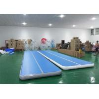 Wholesale Floating Water Blue Inflatable Sports Games Air Track Tumbling Mat For Gymnastics from china suppliers