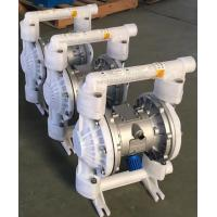 China QBK PVDF Air operated double diaphragm pump pneumatic diaphragm pump on sale