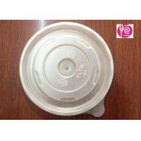 Wholesale 12oz PP Material 100mm Round Soup Lid BPA Free FDA Certificated from china suppliers