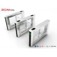 China Office Building RFID Swing Gate Turnstile Glass Gate For Access Control System on sale