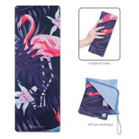 China Thin Folding Durable Travel Yoga Mat For Exercise Activity Using Water Resistance on sale