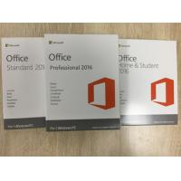 Wholesale Microsoft Office 2016 Home And Student PKC Retailbox NO Disc 100% Activated Online from china suppliers