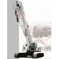 Buy cheap 10 Ton Sq250a Telescopic Crawler Crane Hire Stable Performance from Wholesalers