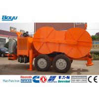 Buy cheap 1x160 KN Hydraulic Cable Tensioner Four Bundle Conductor TY1x160 Cummis Engine from wholesalers