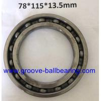 Wholesale 78×115×13.5 Iron Ball Bearings For Roller Shutters , Radial Ball Bearing from china suppliers
