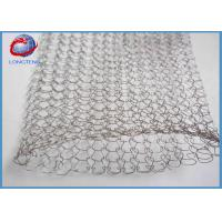 Wholesale Customized Size Knitted Wire Mesh For Filtering Good Flexibility High Efficiency Type from china suppliers