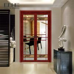 12mm Toughened Spring Aluminium Swing Door High Temperature Resistance