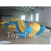 Quality Outdoor Summer Water Games inflatable Water Park Game For Kids And Adults for sale