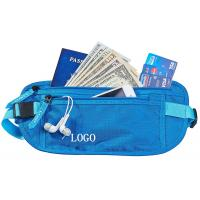 Wholesale Small RFID Ladies Money Belt , Waterproof Money Bag With Adjustable Belt from china suppliers