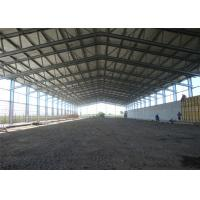 China Fireproof Prefabricated Steel Frame Sheds For Agricultural Storage for sale
