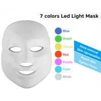 Wholesale 7 Colors LED Phototherapy Machine Skin Rejuvenation Led Face Mask Home Use from china suppliers