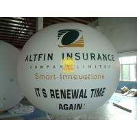 Huge Waterproof advertising balloons with two sides digital printing for Celebration day