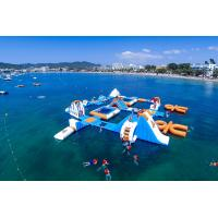 Wholesale Giant Adult Giant Blue inflatable sport park For Wake Island ,Water sports equipment For Ocean from china suppliers