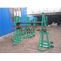 Wholesale Hydraulic cable drum jack  Hydraulic lifting jacks for cable drums from china suppliers