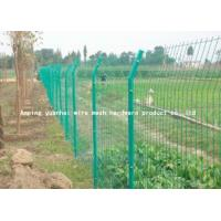 Wholesale Steel Bar Welded Wire Mesh Fencing , Galvanized Metal Fence Panels For Highway from china suppliers