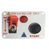 Wholesale Automotive Racing Switch Panel With Flip Up Cover , Racing Toggle Switch from china suppliers