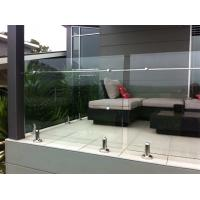 Wholesale Laminated Glass Stainless Steel Balcony Balustrade, Glass Railing Outdoor Prices from china suppliers