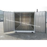 Buy cheap Movable Cold Storage Stainless/ Polyurethane Panel Decoration Portable Chilled from wholesalers