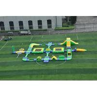 Wholesale Large Thailand Project Inflatable Floating Water Park Obstacle Course For Sea With CE from china suppliers