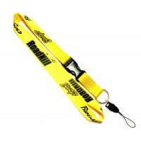 Wholesale Shining Material Custom Nylon Lanyards , Safety Neck Lanyards For Phone Keys from china suppliers
