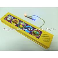 Wholesale Funny Monster 5 push button sound module With 2 LED for sound board books from china suppliers