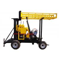 Wholesale JXY200 Trailer Mounted Water Borehole Drilling Equipment With 200m Drilling Capacity from china suppliers
