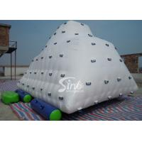 Wholesale Commercial Sports Iceberg Big Inflatable Water Toys for Kids , Adults from china suppliers