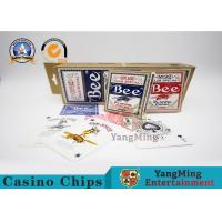 Wholesale Original American Poker Club 92 Bee Casino Playing Cards With UV Black Core Paper from china suppliers