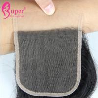 Wholesale Transparent Swiss Lace Virgin Hair Closures Cuticle Aligned Raw Brazilian from china suppliers