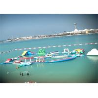 Wholesale 0.9mm PVC Inflatable Water Slide Park / Ultimate Inflatable Floating Water Park from china suppliers
