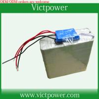 China customized battery 12v 20Ah battery packs with BMS and charger on sale