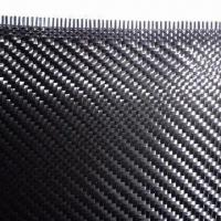 Wholesale Twill Carbon Fiber Fabric with 100 to 1,800mm Width from china suppliers