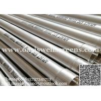 Buy cheap API stainless steel casing pipe/ 8