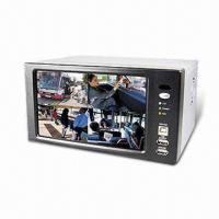 Wholesale 7-inch Modified MJPEG Standalone DVR with Triplex, Network, DDNS, and USB 2.0 Interface from china suppliers