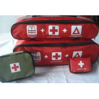 Wholesale car first aid bag, car first aid kid, roadside car emergency kit from china suppliers