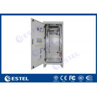 China Emerson Rectifier / Battery Outdoor Power Cabinet Sandwich Structure Panel IP55 for sale